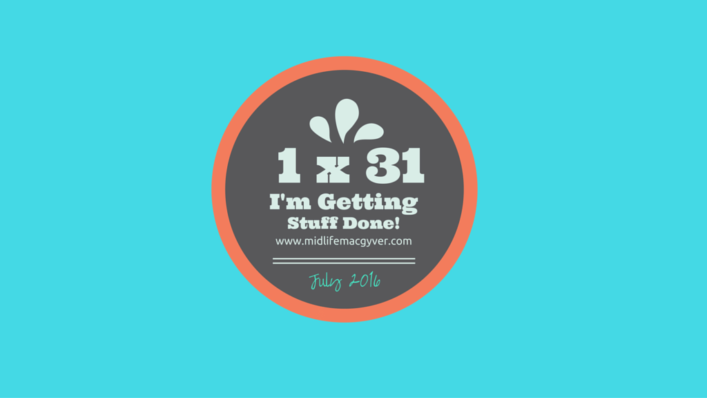 Getting stuff done badge