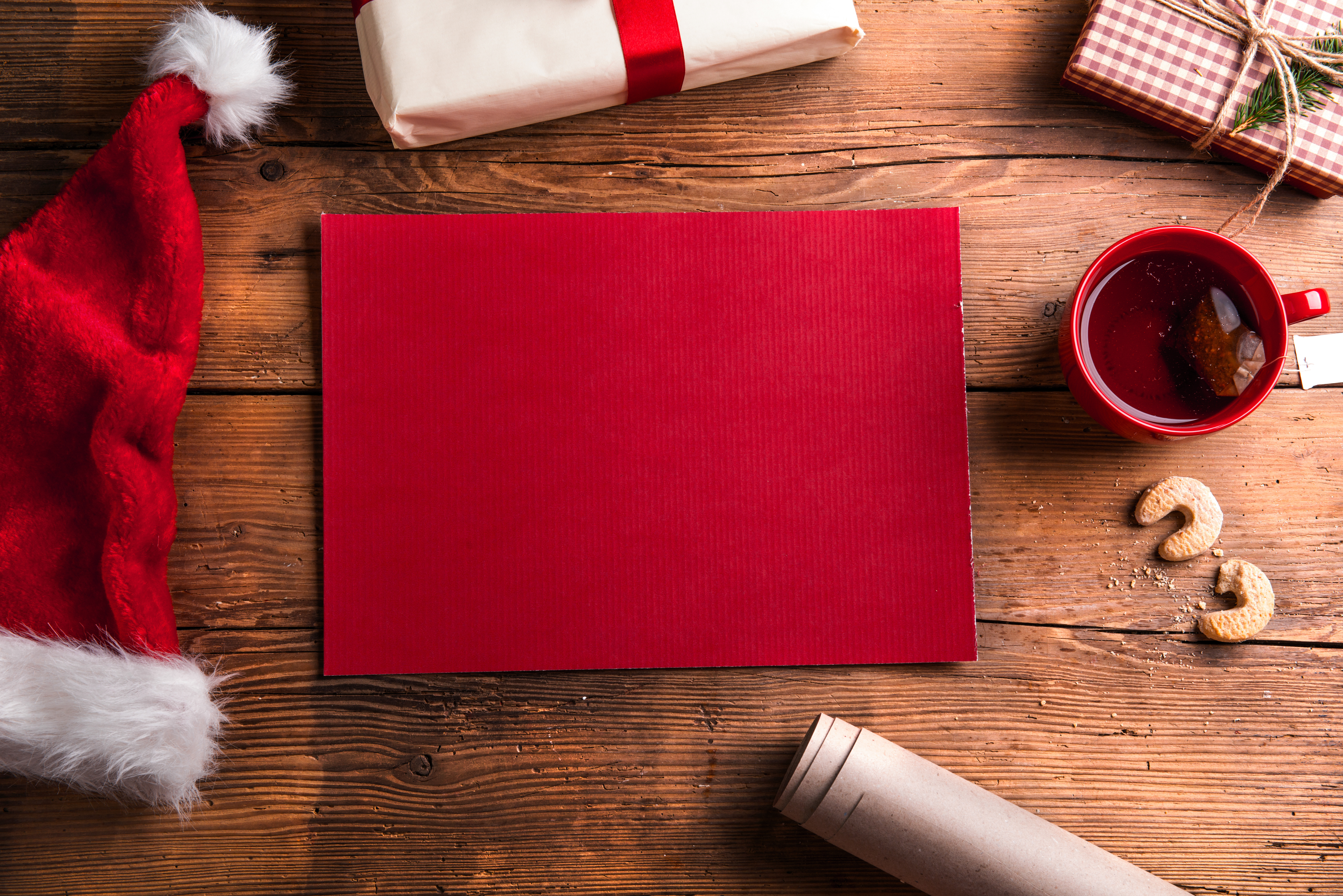Empty wishlist for Santa